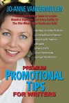 """10 Amazing 5-Star Amazon Reviews for """"…Promotional Tips…"""" Author Jo-AnneVandermeulen"""