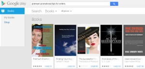 eBook For Sale in Google Play Book Store